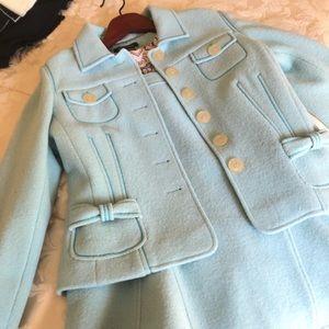 Etcetera jacket size 12 w/ matching skirt size 12